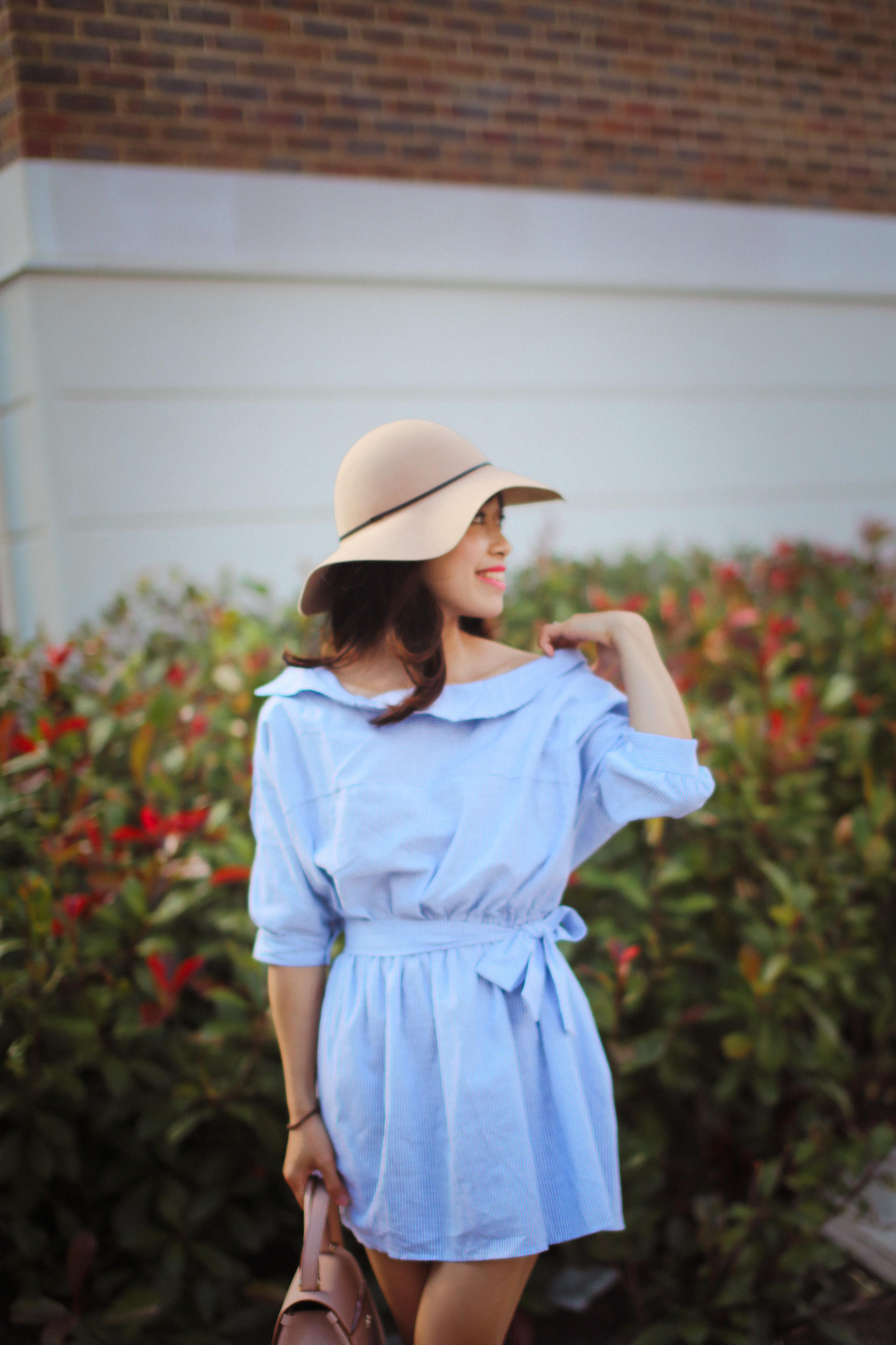 Blue dress_201608-1